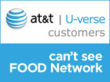 Watch Food Network?  Not if you're an AT&T U-Verse Subscriber